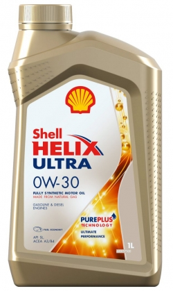 Масло моторное Shell Helix ULTRA ECT C2-C3 0W30 1л
