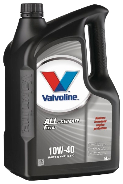 Масло моторное Valvoline ALL CLIMATE EXTRA 10w40 4л.